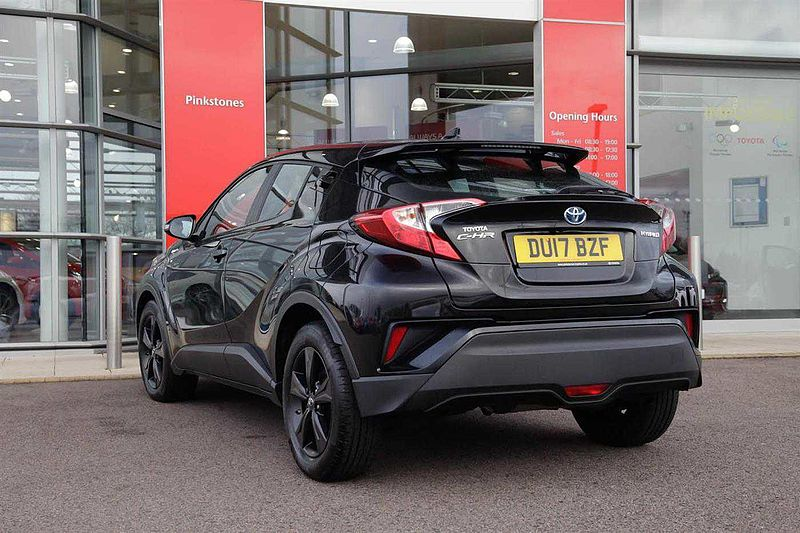 Toyota C-HR Hybrid 1.8 Icon Crossover 5-Dr BLACK ALLOY UPGRADE